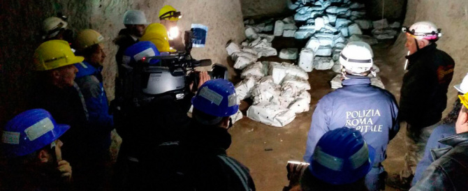 Nuovo scandalo a Roma: discarica abusiva in un parco archeologico