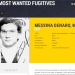 L'altro super ricercato italiano è il capo della Mafia, Matteo Messina Denaro. Ecco la sua scheda sul sito