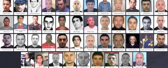 Ecco i 45 criminali più ricercati d'Europa: ci sono anche due italiani