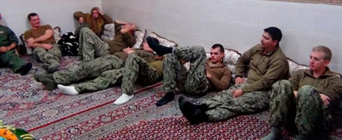 Iran-Usa: liberi i 10 marinai americani che avevano sconfinato nel Golfo
