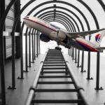 Trovato l'aereo scomparso molti mesi fa! E' un falso, ovviamente. (Foto Facebook)