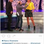 """""""Postala per prima"""". La scritta sotto alla foto ha fatto pensare ad  un social editor e scatenato una polemica.(Foto Instagram)"""