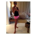 Paola Perego in una selfie pubblicato sui social. (Foto Instagram)