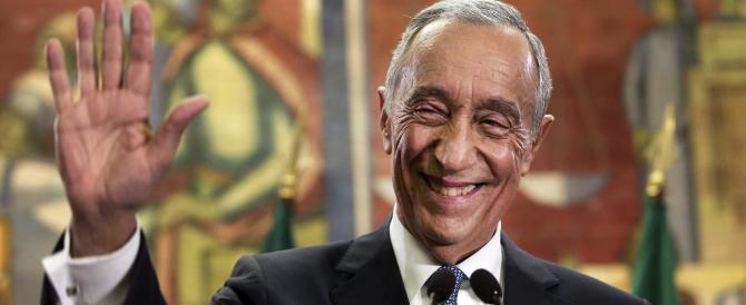 Portogallo, il centrodestra vince le presidenziali con Rebelo De Sousa