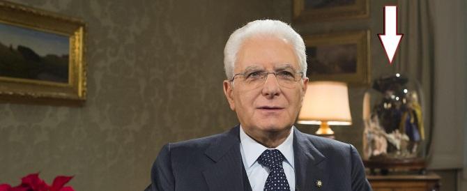 A Mattarella piace il presepe e lo mostra in tv: bravo, presidente!