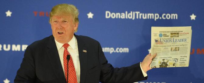 Trump vola nei sondaggi: doppia il rivale Cruz e affonda Rubio e Bush