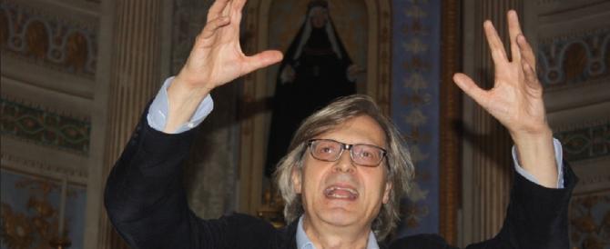 """Contromano, litigò con i carabinieri: Sgarbi condannato per """"resistenza"""""""