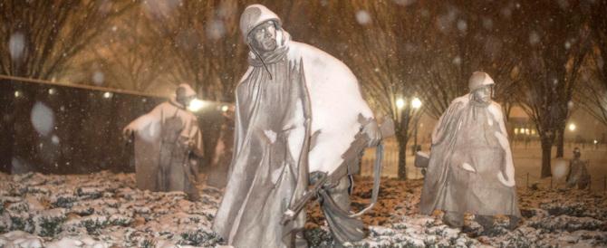 Usa, la spettacolare photogallery della tempesta di neve