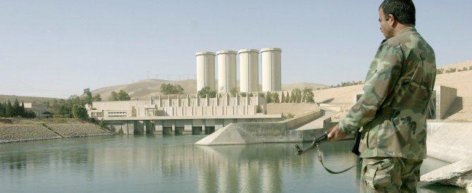 Gli italiani ripareranno la diga di Mosul: ma chi li proteggerà dall'Isis?