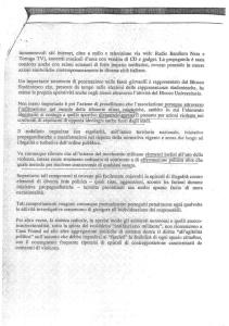 LA RELAZIONE DELLA DIREZIONE CENTRALE DELLA POLIZIA DI PREVENZIONE DEL VIMINALE A FAVORE DI CASAPOUND