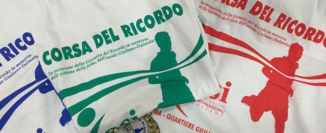 Domenica a Roma la Corsa del Ricordo per le vittime delle Foibe