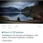 La risposta di Laura Torrisi su Instagram, dalla Svizzera, dove si trova per lavoro. (Foto Instagram)