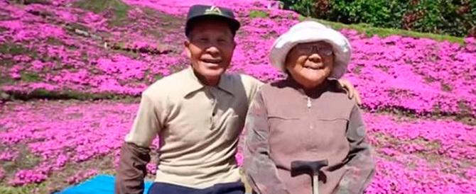 Giappone, regala un giardino alla moglie cieca. Arrivano migliaia di turisti