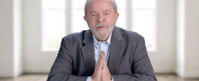 Brasile, senza immunità Lula ora implora i giudici: «Vi chiedo giustizia»