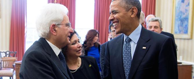 Mattarella da Obama: decisiva la collaborazione Italia-Usa per la Libia