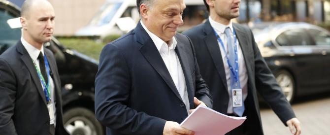 """Orban avverte la Ue: """"L'Ungheria potrebbe chiudere tutti i confini"""""""
