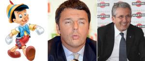 """Renzi sfacciato ne """"spara"""" un'altra. L'unico a dargli ragione è… Librandi"""