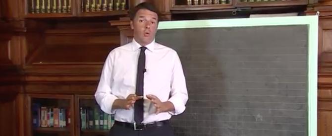 L'ultimo strafalcione di Renzi stavolta è in latino (Video)