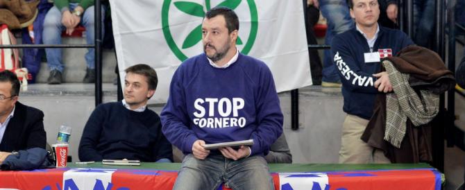 """E Salvini a Roma parte dalle periferie: """"Lega primo partito del centrodestra"""""""