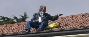 Sanremo, un uomo minaccia di lanciarsi da un tetto (gallery)