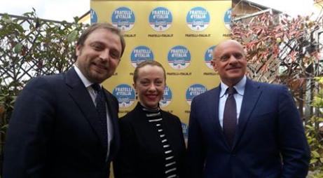Da Storace alla Meloni: FdI festeggia l'arrivo di Fabrizio Santori