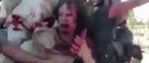 Gheddafi, gli ultimi istanti in un inedito trasmesso dalla Bbc (Video)
