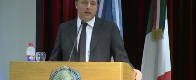 Gaffe di Renzi: cita Borges ma la poesia scelta non è… di Borges