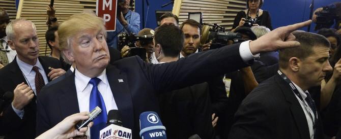 Scandalo internazionale, ma la frase citata da Trump non è di Mussolini…
