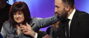 La Pezzopane va in tv a parlare del suo amore ma nessuno dice niente