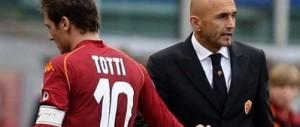 Lite furibonda tra Totti e Spalletti dopo Roma-Atalanta