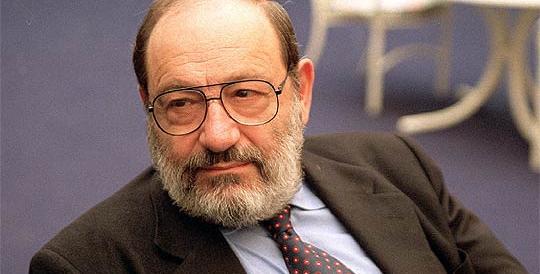Addio a Umberto Eco, grande ma fazioso: paragonò Berlusconi a Hitler…