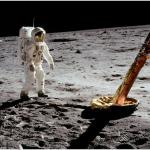 Lo sbarco sulla luna. (Foto Instagram)