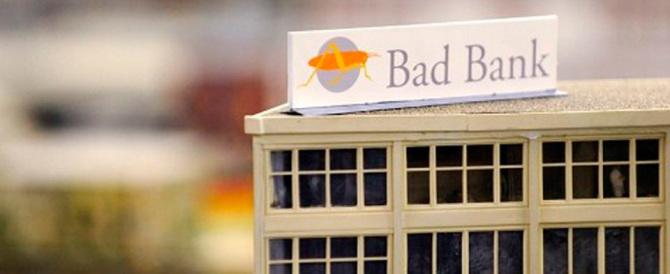 """La strana storia della """"bad bank"""""""