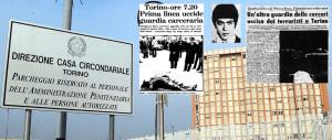 Passerella della terrorista nel carcere dedicato all'agente ucciso dal suo gruppo