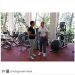 Medvedev pubblica spesso immagini in compagnia del presidente russo, Vladimir Putin. (Foto Instagram)