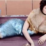 Frida protagonista di una campagna pubblicitaria (Foto Instagram)