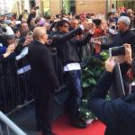 Un selfie dell'attore.  (Foto Instagram)