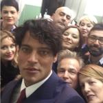 Dietro le quinte a Sanremo.  (Foto Instagram)