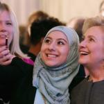 Niente classifica anche per il possibile nuovo presidente americano ed ex first lady, Hillary Clinton.  (Foto Instagram)