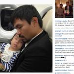 """Manny pubblica spesso fotografie delle figlie: """"Dobbiamo essere un esempio"""", scrive qui.  (Foto Instagram)"""