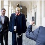 Il fondatore del social network delle foto è stato ricevuto con onori al Quirinale. (Foto Instagram)
