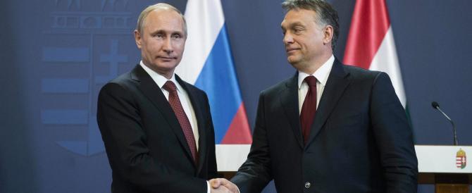 Orban si schiera con Putin, l'Unione europea si infuria: così ci indebolisce