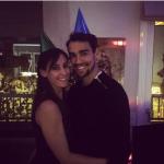 Coi cappellini ad una festa. (Foto Instagram)