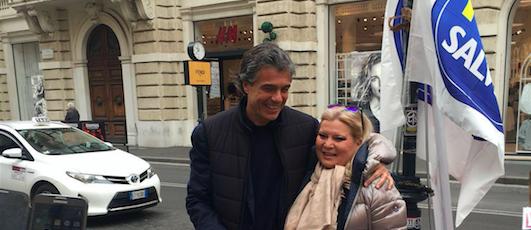 """Primarie di """"Noi con Salvini"""" per Roma: ha votato anche Marchini"""