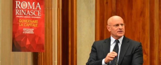 Rampelli: «Salvini tentato da Marchini? Anche lui sceglie i poteri forti»