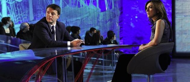 Daria Bignardi a RaiTre in quota Renzi: nonostante i flop e i cagnolini di Monti