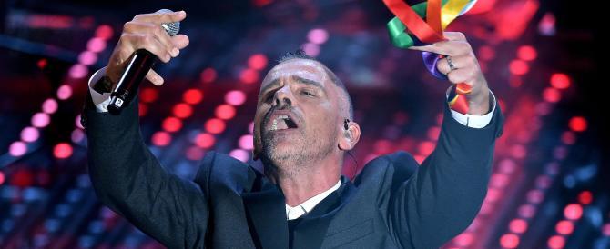 """Sanremo, il Festival della Cirinnà: chi non è """"arcobaleno"""" resta invisibile"""