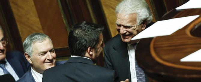 """Verdini apre le braccia a Renzi: """"Matteo, vieni via con me. Basta con il Pd"""""""