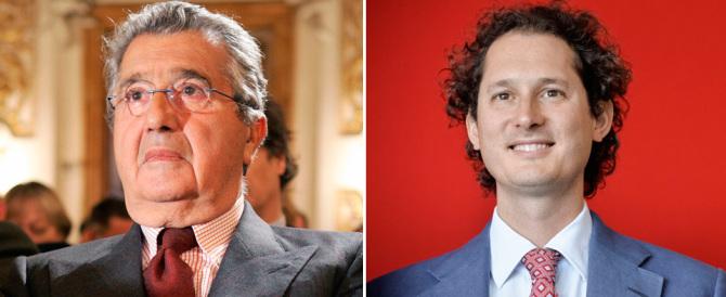 La prima unione civile: Elkann e De Benedetti pronunciano il fatidico sì