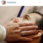 (Foto Instagram, Osservatore Romano)